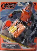"""ACTION MAN - """"SNOW BOARD EXTREME"""" - HASBRO-cm. 30-Anno 2002"""