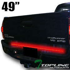 "Topline For Chevy T1A 49"" Universal Signal/Reverse LED Tailgate Tail Light Bar"