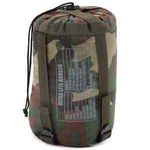 Army Schlafsack Ultra-Lite Ranger US Gebirgsschlafsack Bergschlafsack Woodland