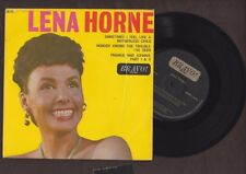 """Lena Horne, Sometimes I Feel Like A Motherless Child EP, 7"""" picture sleeve 45rpm"""