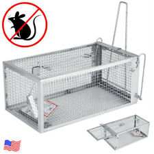 Rat Trap Cage Small Live Animal Pest Rodent Mouse Control Bait Catch Trap Cages