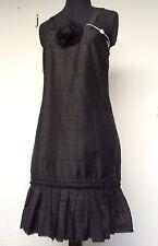 Neu + Etikett! Elegantes Abendkleid Kleid Ilary 34 S 36 100% Seide schwarz 230,€