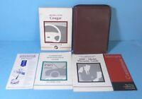 00 2000 Mercury Cougar owners manual