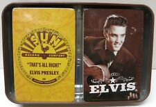 Elvis Presley Sun Record Company Playing Cards Twin Pack Brand New!