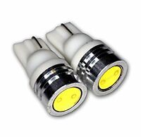 Bright! T10 * W5W LED Xenon White Number Plate Parking Light Bulbs