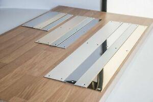 Door Metal Push Plates Stainless Steel, Brass, Aluminium, Polished Kick Plate