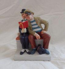 1980 Norman Rockwell The Interloper Porcelain Figurine The Danbury Mint