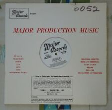 Major Library Music LP #6052 Angelo Frances Lavagnino Cyril Watters Zito Angelo