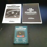 ACTIVISION STAR MASTER GAME AND 2 INSTRUCTIONS FOR ATARI 2600