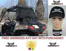 MADE IN THE USA!! Super ATV Polaris RZR 170 TINTED REAR Windshield With Free Hat