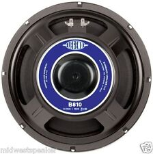 "Eminence LEGEND B810 10"" Bass Guitar Speaker 32 ohm 150 Watt - FREE US SHIPPING!"
