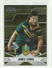 2013 ESP NRL ELITE COWBOYS JAMES TAMOU Australian Rep 2012 AR15 CARD
