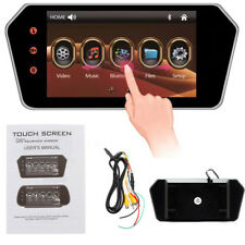 7'' Touch Screen HD LCD Bluetooth Car Parking Monitor Universal for Rearview Cam