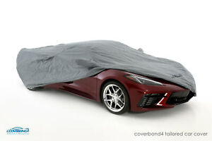 Coverking Coverbond 4 Tailored Car Cover for Chevy Corvette C8 - Made to Order
