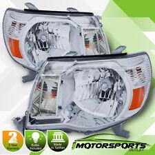 2005-2011 Toyota Tacoma [TRD Style] Chrome Headlights 2006 2007 2008 2009 2010