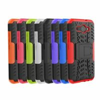 Rugged Hybrid Armor Shockproof Hard Case Kickstand Cover For Huawei Y3 2017/2018
