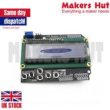 LCD Keypad Shield LCD1602 16x2 Screen Display Module Arduino Uno