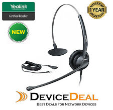 Yealink YHS33 Monoaural wired Headset for IP Phone ( New model of YHS32 )