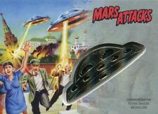 Mars Attacks The Revenge Silver Medallion [15] Card CM-MS Moscow Under Siege