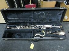 Vito 7166 Bb Bass Clarinet w bell Eb, Serviced and ready to play. #BCL01