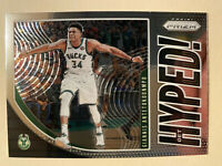 2019-20 Panini Prizm Giannis Antetokounmpo Get Hyped! Insert #3 - MINT! WOW!!