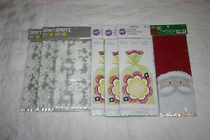Party Supplies Lot/8pk Wilton Spritz Party Treat Bags 120 pc w/ ties