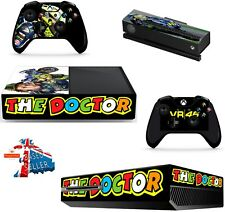 VALENTINO ROSSI  VR 46 XBOX ONE *TEXTURED VINYL ! * PROTECTIVE SKIN DECAL WRAP