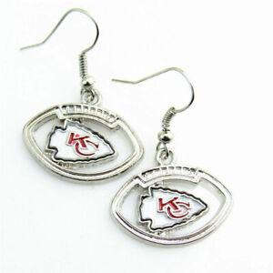 NFL Football Sports Team, football shaped earrings, buy any 3 get 1 free