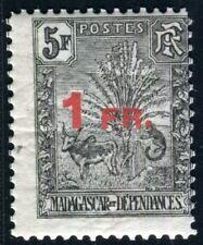 MADAGASCAR 1921 124 ** POSTFRISCH SELTENE MARKE (D7389
