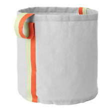 Ikea Laundry Bag Storage Basket Linen Clothes Wash Bin Supplies Toy Large Fabric