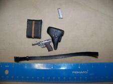 1/6 Scale Dragon WWII German Belt, Pistol, Holster & Case