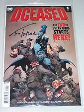 DCeased #1! (2019) Signed by Writer Tom Taylor! NM! COA!