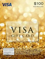 $100 GIFT CARD ACTIVATED. FREE SHIPPING! No Fees. IMMEDIATE USE SEE DESCRIPTION.