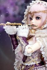 1/4 BJD doll fairyland Chloe FREE FACE MAKE UP+EYES-for Christmas /birthday gift
