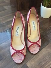 Jimmy Choo peep toe ladies shoes  (made in Italy), size 6, Price £250 (+ p&p)