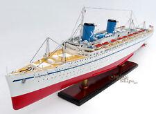 "SS Australis Ocean Liner Handcrafted Ship Model 34"""