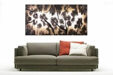 Large (up to 60in.) Brown Abstract Aboriginal Art Paintings