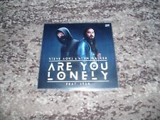 """Steve Aoki & Allan Walker very rare cd single promo france """"are you lonely"""""""