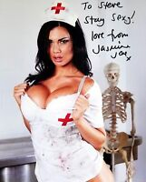JASMINE JAE Hand Signed Photo 8 x 10 Color Authentic Autograph To Steve