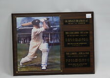 Sir Donald Bradman Signed and Framed Photograph - Number 383/2000 - Certificate