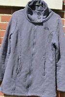 THE NORTH FACE Crescent Ridge Shawl Collar Button Sweater Women's Medium Fleece