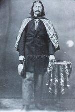 Wild Bill Hickok Lawman Gunfighter Wild West 1869 USA Reprint 7x5 Inch Photo