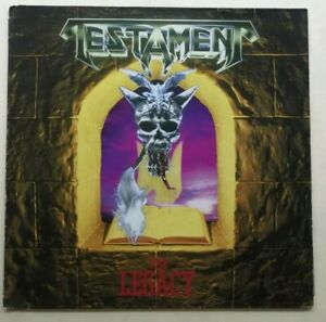 Testament – The Legacy 1987 Europe LP