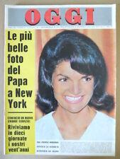 OGGI 41 1965 Jacqueline Kennedy Francoise Hardy Franco franchi Ingrassia [G801]