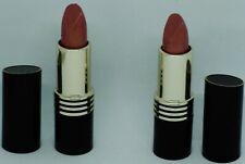 2 Revlon Vintage Super Lustrous Lipstick Black Label Crystal Glow #10 Rare Htf