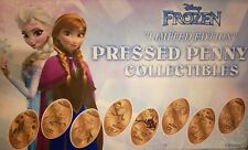 Frozen Ever After Epcot Complete Set Eight Pressed Pennies Anna, Elsa & Kristoff