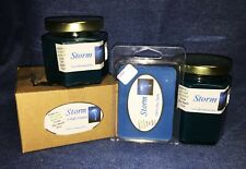 **NEW** Hand Poured Fresh Scents Soy Candles Tarts & Votives - Storm