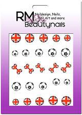 Nagel Sticker Fussball EM WM Ball Flagge England Nailwrap BLE1653