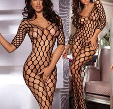 Fishnet Long Sleeve Everyday Lingerie Bodies for Women