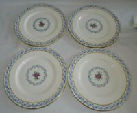 Lenox USA The Fairmount 4 Salad Plates 8 1/4""